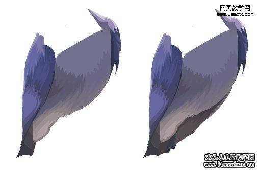 带翅膀的心的画法手绘恶魔翅膀画法漫画天使翅膀的 ...