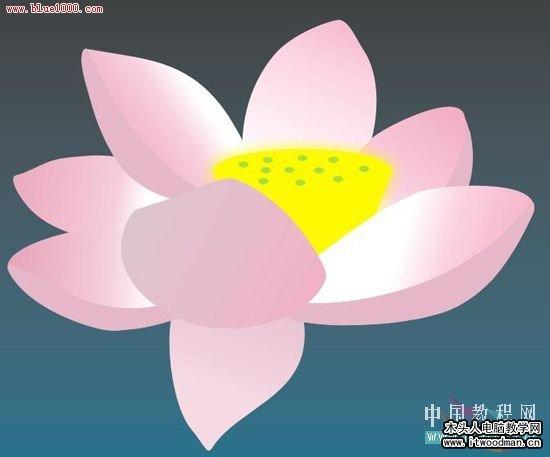 格荷叶荷花蜻蜓图(3)